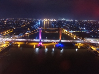 The Landmark of Palembang City, Ampera Bridge