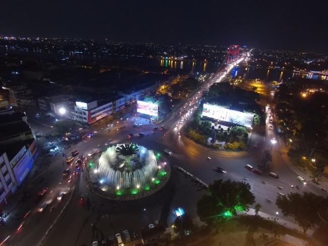 Air Mancur, Zero Sopt of Palembang City