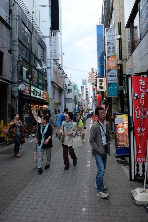Street di dekat Ueno Park