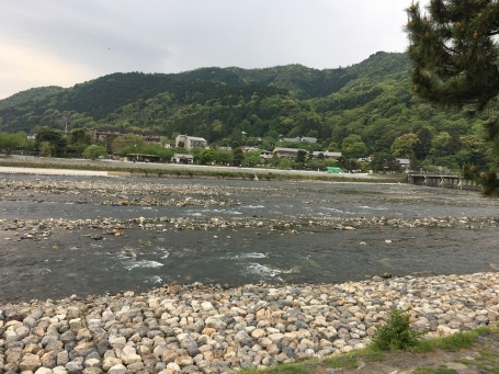 Togetsukyo Bridge, Arashiyama, akan lebih ciamik viewnya jika autumn season