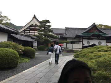 Daikakuji Temple, Nice Weather for take a photo.
